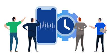 automated robot bot trading stocks using artificial intelligence machine AI on smartphone