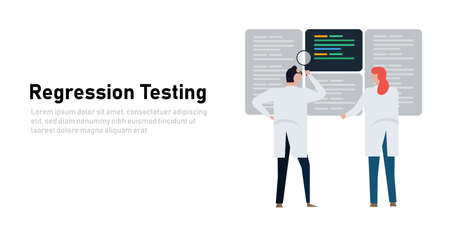 Regression testing to ensure that previously developed and tested software still performs after a change