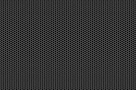 graphene: Graphene array texture pattern honeycomp hexagon Stock Photo