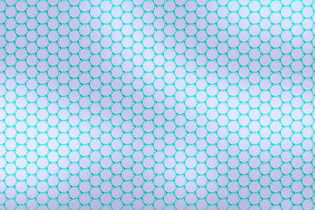allotrope: Graphene hexagon array pattern texture honeycomb