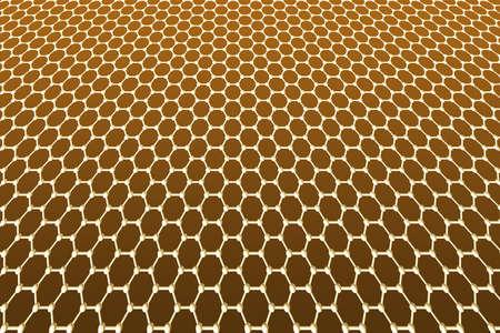 graphene: Graphene hexagon array pattern texture honeycomb