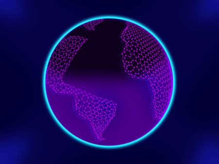 graphene: Graphene World Space pattern texture Carbone Graphite