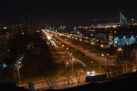 belgrade: Belgrade at night
