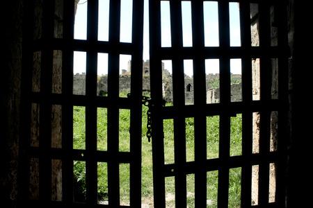 darkroom: Locked castle gate