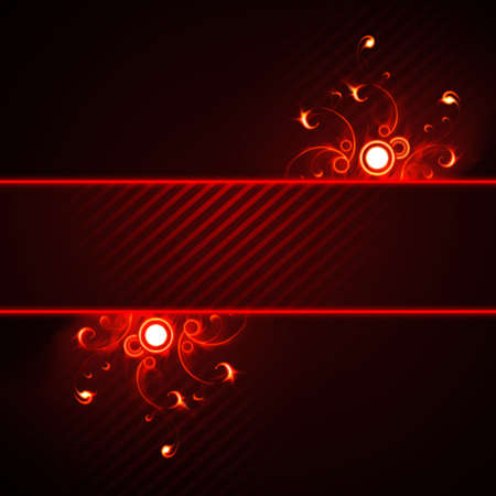 Fiery abstraction Stock Photo - 2655446