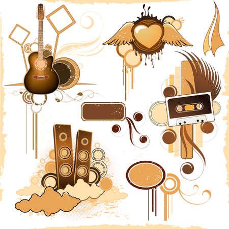 acustica: Composizioni musicali