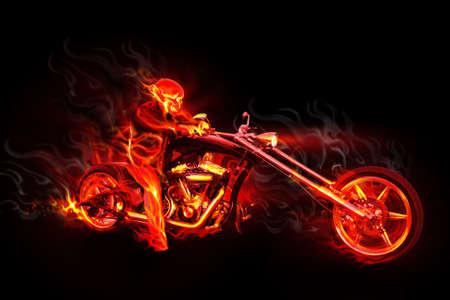 biker: Night devil