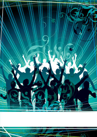 Musical background for the text Stock Photo - 3597912