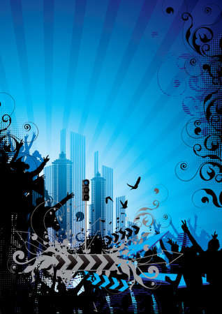 Musical background Stock Photo - 4096474