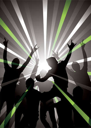 Musical background Stock Vector - 4744701