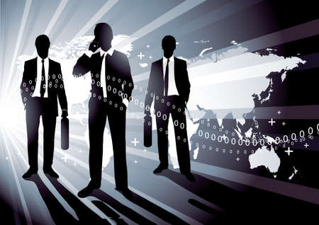 Business the agreement Vector