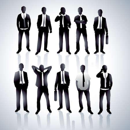 Businessmen in a vector Stock Vector - 4909687