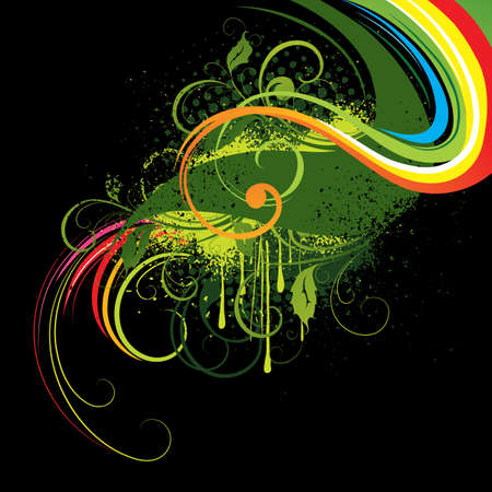 Colour abstraction Stock Vector - 5195279