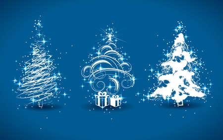 fur tree: Alberi di Natale