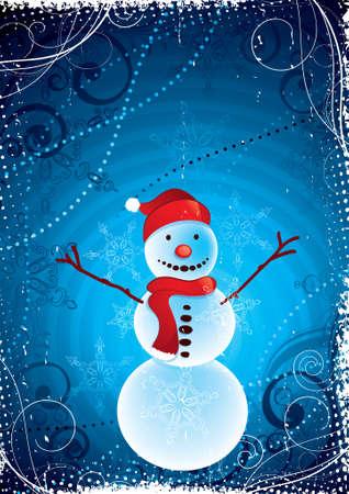 Snowman Stock Vector - 5908547