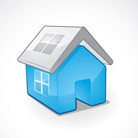 Internet home symbol Stock Vector - 6199103