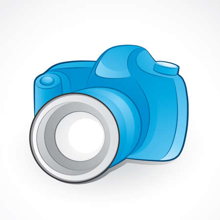 Camera icon Stock Vector - 6199100