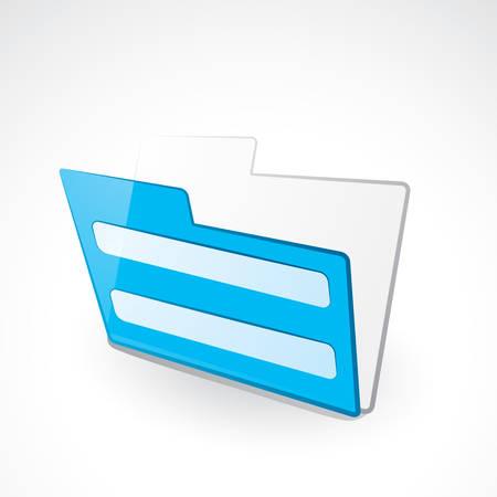 Folder Stock Vector - 6251531