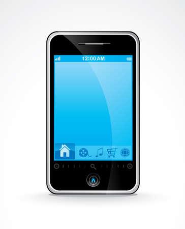 Smart phone Stock Vector - 6570254