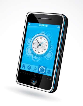Smart phone Stock Vector - 6570253