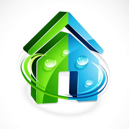 Ecological house Stock Vector - 6709703