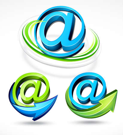 Mail symbol Stock Vector - 6709708