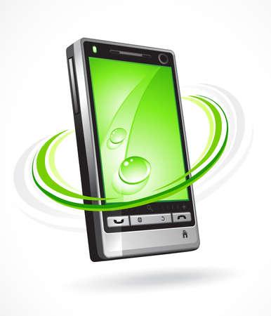 hablar por telefono: Tel�fono ecol�gico