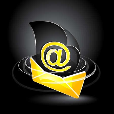 Electronic letter Vector