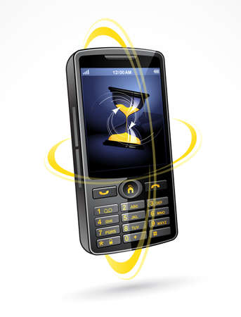 Phone illustration Stock Vector - 6975752