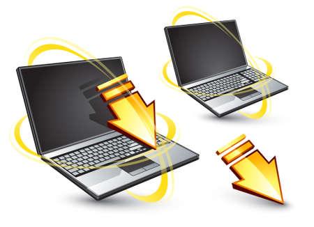 inet symbol: Laptop