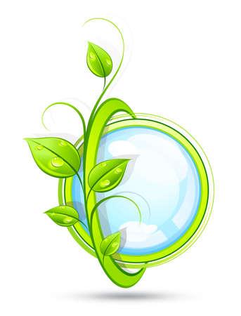 Green composition Stock Vector - 7288108