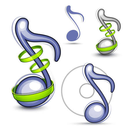 Musical note Stock Vector - 7605540