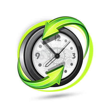 Illustration of hours Stock Vector - 7605535