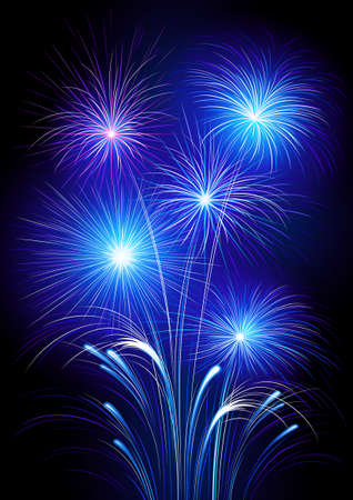 Fireworks Stock Vector - 7695985