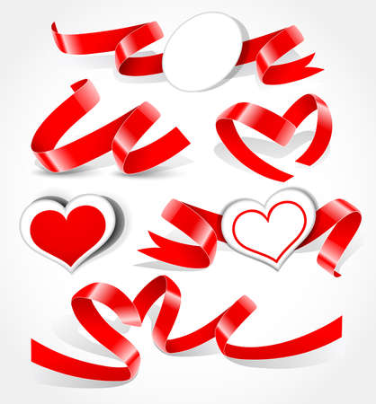 Collection of hearts. Vector illustration Stock Vector - 8582973