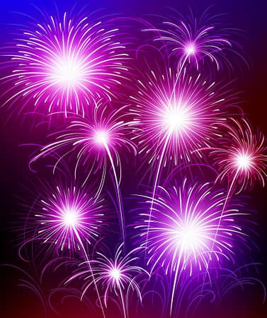 Fireworks Stock Vector - 8625848