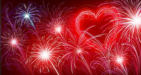 Fireworks Stock Vector - 8625850