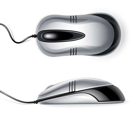 pc icon: Optical mouse Illustration