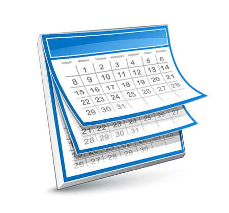 Kalender Vector Illustratie