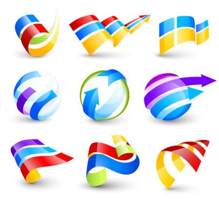 colori: Raccolta di icone di colore