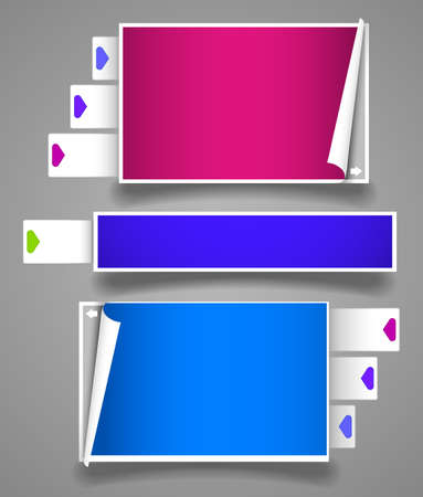 Collection framework for the site Stock Vector - 9554954
