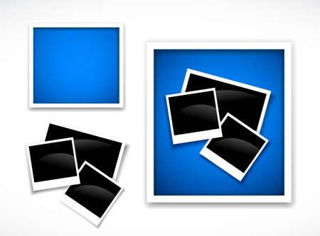 Photos frames Stock Vector - 9647004