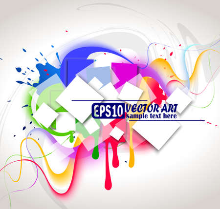 Colour background. Vector illustration Vector