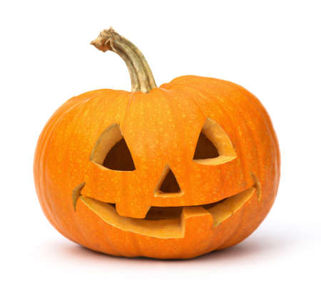 tricks: Halloween Pumpkin. Stock Photo