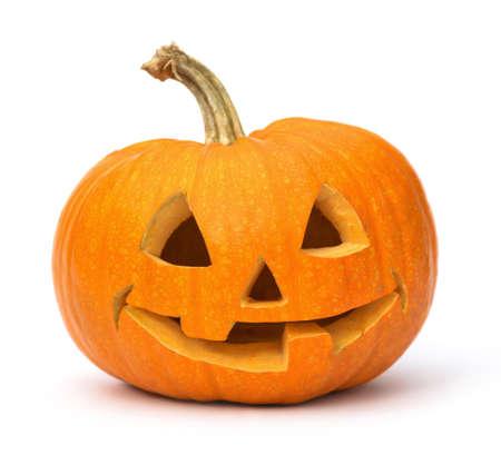 pumpkin face: Halloween Pumpkin. Stock Photo