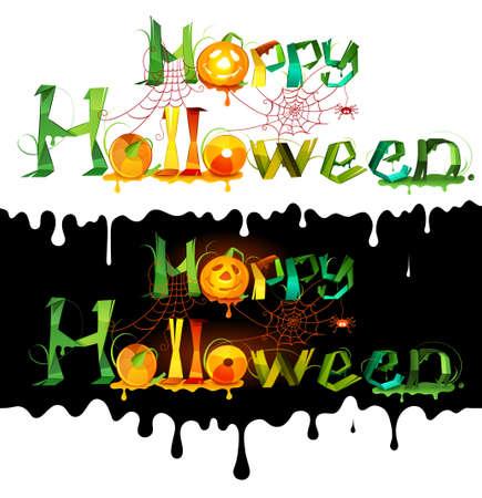 Happy Halloween. Vector