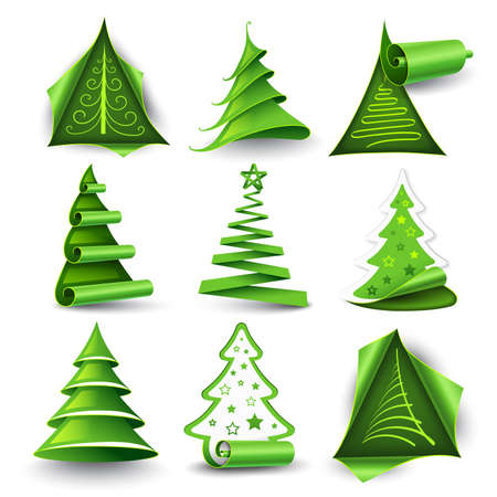 authentic: Christmas trees