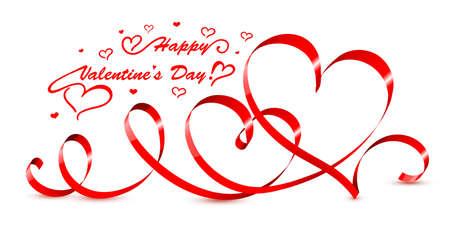 valentine hearts vector illustration vector