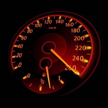 Speedometer. Vector illustration Stock Vector - 12773076