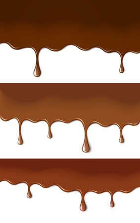 Chocolate paints Vector